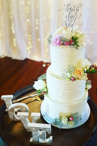 beautiful wedding cakes cake with flower cakesbycassandra