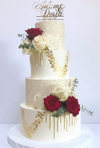beautiful wedding cakes elegant cake with flower gayas cakes