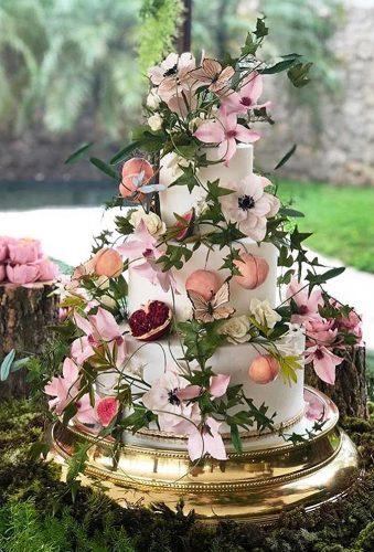 beautiful wedding cakes flower cake thekingcake