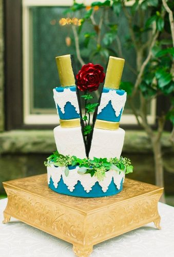 beautiful wedding cakes moder wedding cake littlesnlaceevents