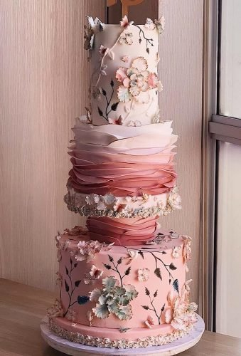 beautiful wedding cakes ombre cake duchess bakes