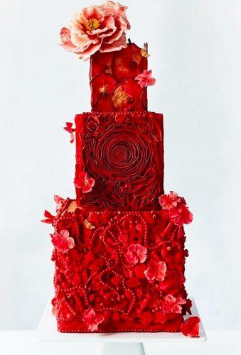 beautiful wedding cakes red cake dawnweltoncake