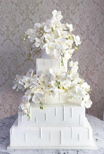 beautiful wedding cakes white cakes thekingcake