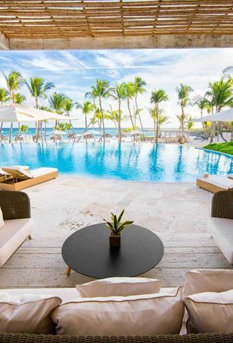 best all inclusive honeymoon pool in hotel edenroccapcana
