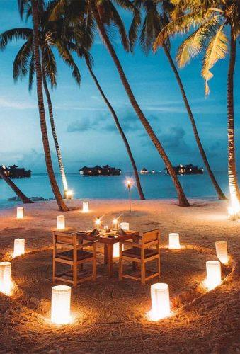 best all inclusive honeymoon romantic evening on maldives gili lankanfushi