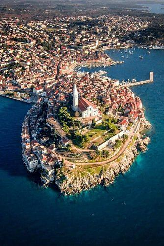 best honeymoon spots amazing view rovinj croatia