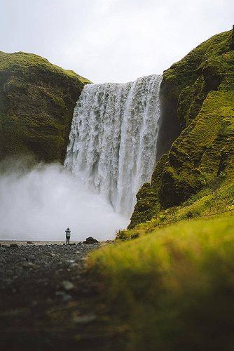 best honeymoon spots iceland waterfall
