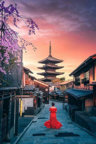 best honeymoon spots kyoto japan streets