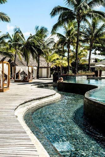 best honeymoon spots mauritius resort hotel pool