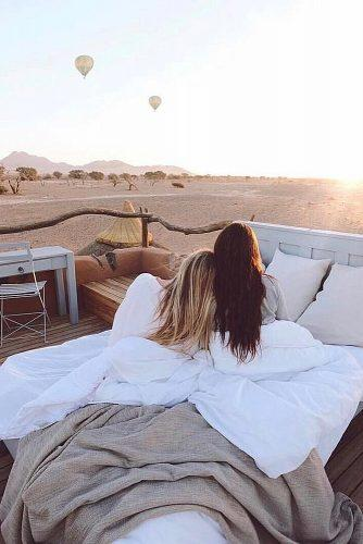 best honeymoon spots namibia friends relax together