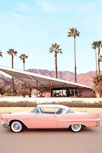 best honeymoon spots palm springs california stylish photo vintage car