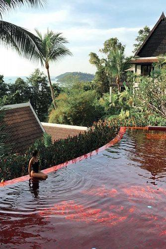 best honeymoon spots relax pool thailand