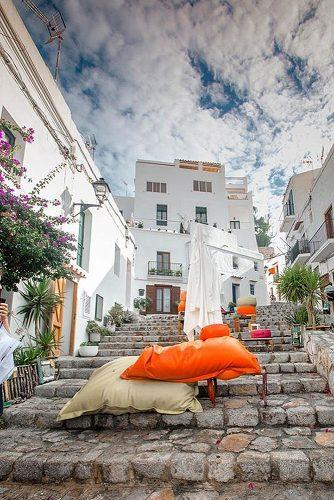 best honeymoon spots street ibiza spain