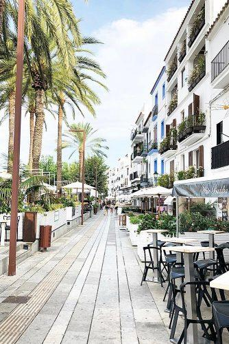 best honeymoon spots streets ibiza spain