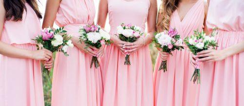blush bridesmaids dresses featured