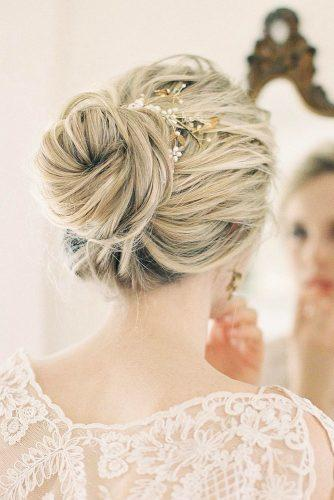 bridesmaid updos high hair bun blond chiali meng