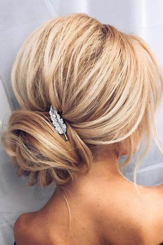 bridesmaid updos hottest blond updo with accessories alena famina