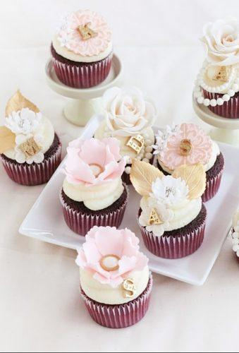 chocolate wedding cupcake chocolate cupcake with tender flower thispieceofcake