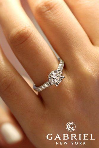gabriel and co engagement rings ER12679R4W44JJ matilda crown diamond simple ring