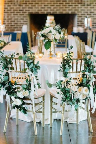greenery wedding decor details for just married eventsource ca