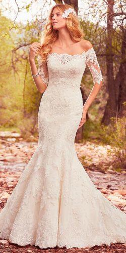 lace sweetheart neck with long sleeves maggie sottero wedding dresses 2017 style betsy
