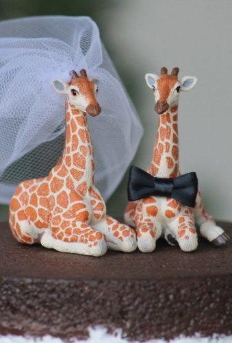 unique wedding cake toppers wedding giraffe WeddingPros