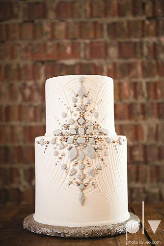 unique wedding cakes white small with vintage ornaments signature bride magazine via facebook