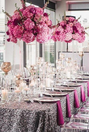 wedding centerpieces pink centerpiece edgedesigngroup