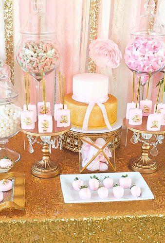 wedding dessert table ideas vintage modern pink gold desert table swttoothbuffets