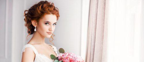 wedding hairstyle for medium hair featured