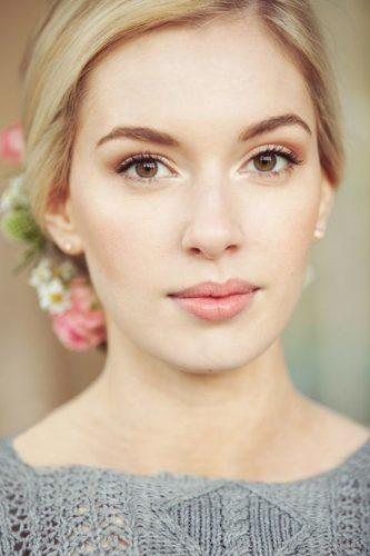 wedding makeup looks blond with updo natural makeup natalie ryan