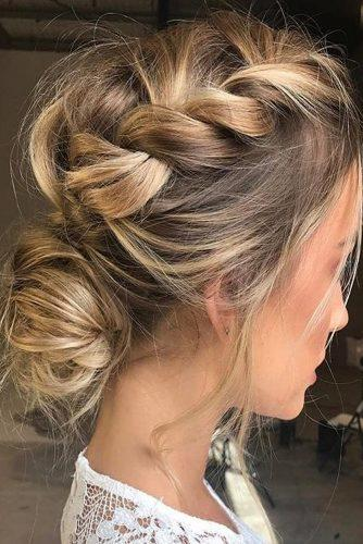 wedding updos for medium hair totall braided updo stella stylist
