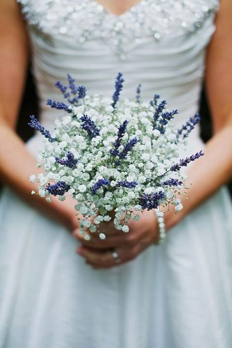 wildflower wedding bouquets with baby breth and lavender benjamin stuart photography