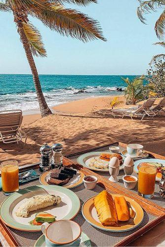 affordable honeymoon packages antigua breakfast at the beach