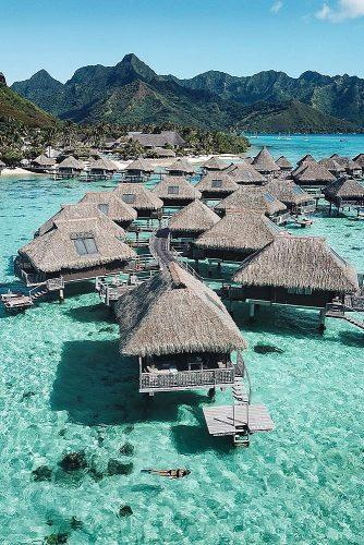 affordable honeymoon packages bora bora bungalos at the water
