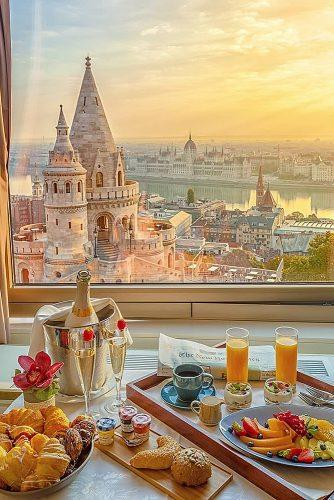 affordable honeymoon packages budapest hungary breakfast near window