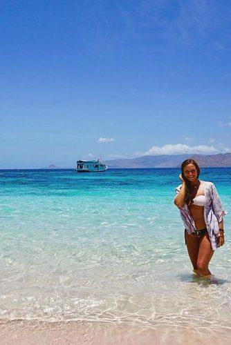 affordable honeymoon packages comodo island girl on the pink island