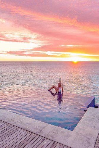 affordable-honeymoon packages fiji romantic sunset pool