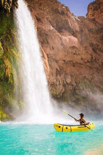 affordable honeymoon packages havasupai arizona girl in the boat
