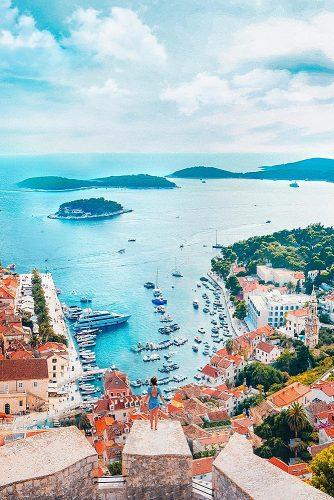 affordable honeymoon packages hvar croatia view at the city