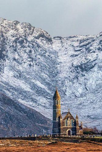 affordable honeymoon packages ireland church near mountains