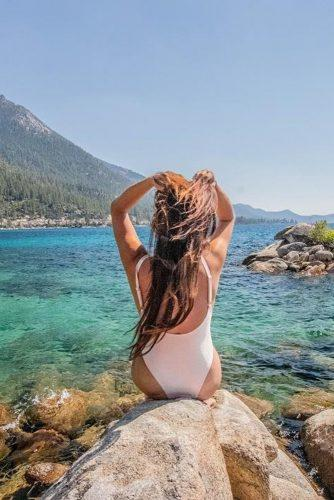 affordable honeymoon packages lake tahoe nevada girl sitting near water