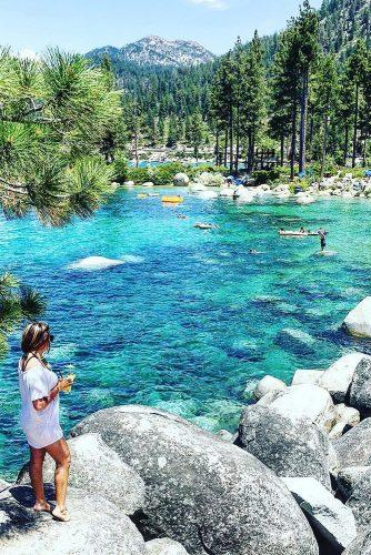 affordable honeymoon packages lake tahoe nevada woman at the nature