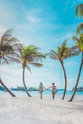 affordable honeymoon packages langkawi malaysia couple at the beach