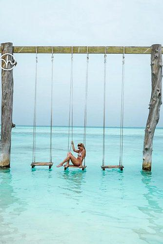 affordable honeymoon packages maldives girl in the ocean
