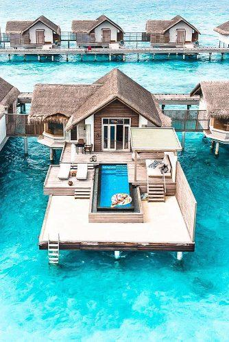 affordable honeymoon packages maldives resort bungalo on the water