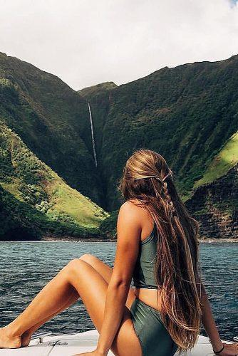 affordable honeymoon packages oahu hawaii girl relaxing near water