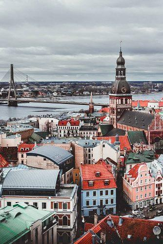 affordable honeymoon packages riga latvia view at the city