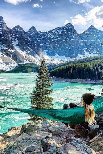 affordable honeymoon packages rocky mountains colorado girl in the hammock