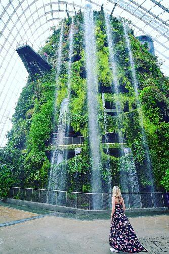 affordable honeymoon packages singapore amazing greenery with waterfall girl